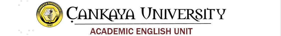English Academic Unit